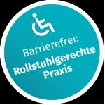 Kontakt Barrierefrei: Rollstuhlgerechte Praxis